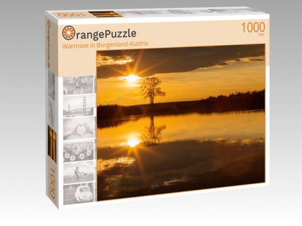 """Puzzle Motiv """"Warmsee in Burgenland-Austria"""" - Puzzle-Schachtel zu 1000 Teile Puzzle"""