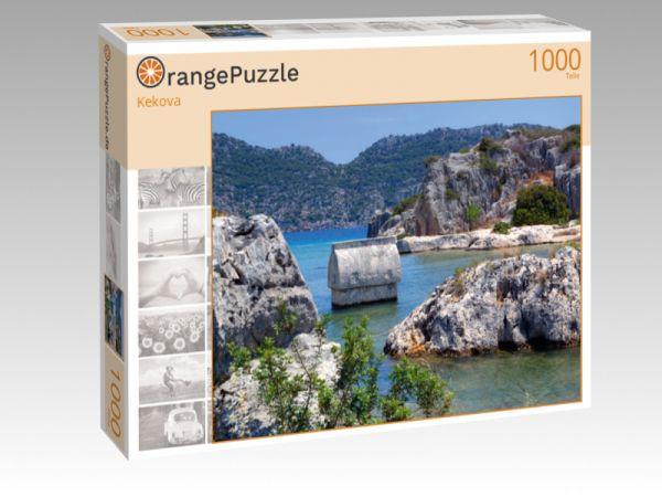 """Puzzle Motiv """"Kekova"""" - Puzzle-Schachtel zu 1000 Teile Puzzle"""