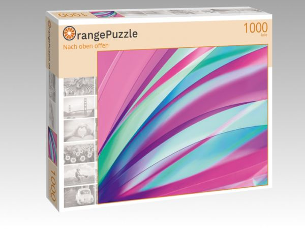 "Puzzle Motiv ""Nach oben offen"" - Puzzle-Schachtel zu 1000 Teile Puzzle"