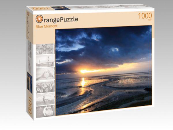 """Puzzle Motiv """"Blue Moment"""" - Puzzle-Schachtel zu 1000 Teile Puzzle"""