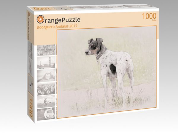 """Puzzle Motiv """"Bodeguero Andaluz 2017"""" - Puzzle-Schachtel zu 1000 Teile Puzzle"""