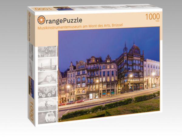 """Puzzle Motiv """"Musikinstrumentemuseum am Mont des Arts, Brüssel"""" - Puzzle-Schachtel zu 1000 Teile Puzzle"""
