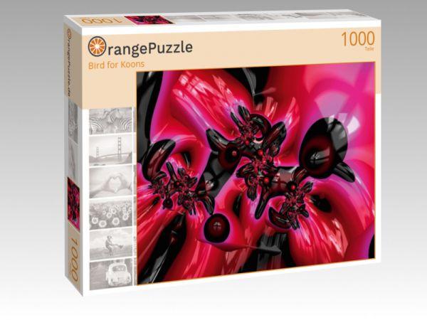 """Puzzle Motiv """"Bird for Koons"""" - Puzzle-Schachtel zu 1000 Teile Puzzle"""
