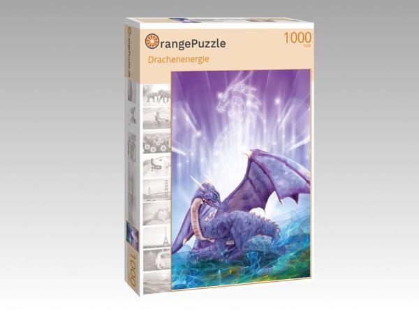 """Puzzle Motiv """"Drachenenergie"""" - Puzzle-Schachtel zu 1000 Teile Puzzle"""