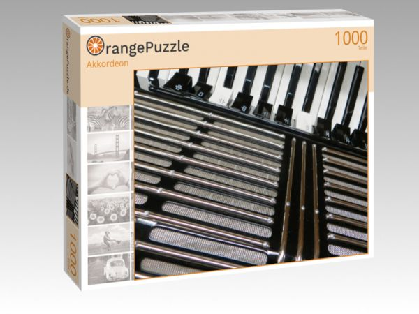 """Puzzle Motiv """"Akkordeon"""" - Puzzle-Schachtel zu 1000 Teile Puzzle"""