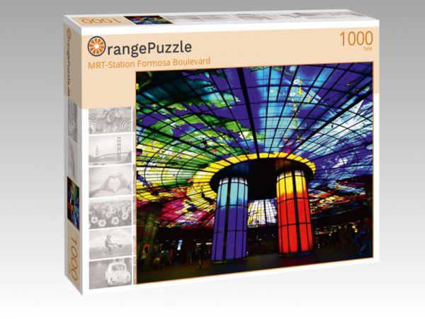 """Puzzle Motiv """"MRT-Station Formosa Boulevard"""" - Puzzle-Schachtel zu 1000 Teile Puzzle"""