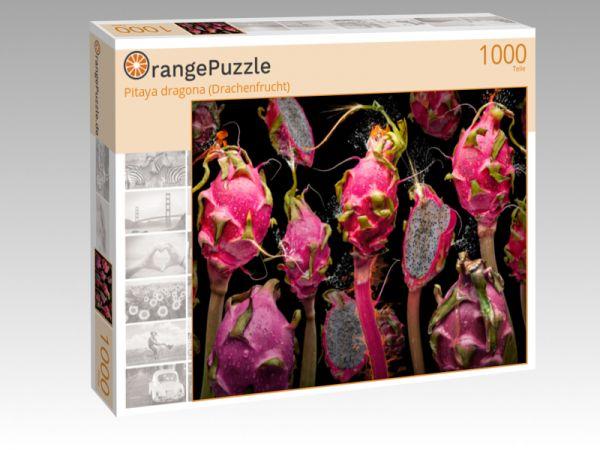 """Puzzle Motiv """"Pitaya dragona (Drachenfrucht)"""" - Puzzle-Schachtel zu 1000 Teile Puzzle"""