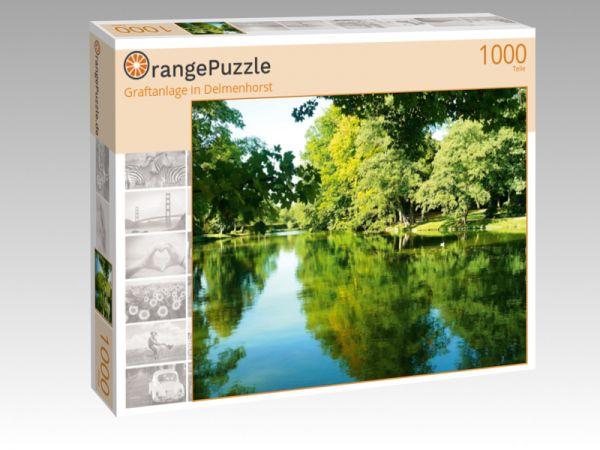 "Puzzle Motiv ""Graftanlage in Delmenhorst"" - Puzzle-Schachtel zu 1000 Teile Puzzle"