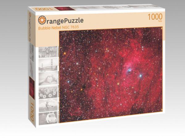 """Puzzle Motiv """"Bubble-Nebel NGC 7635"""" - Puzzle-Schachtel zu 1000 Teile Puzzle"""