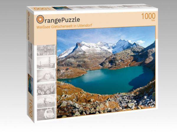 """Puzzle Motiv """"Weißsee Gletscherwelt in Uttendorf"""" - Puzzle-Schachtel zu 1000 Teile Puzzle"""