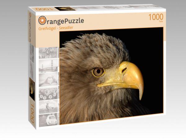 """Puzzle Motiv """"Greifvögel - Seeadler"""" - Puzzle-Schachtel zu 1000 Teile Puzzle"""