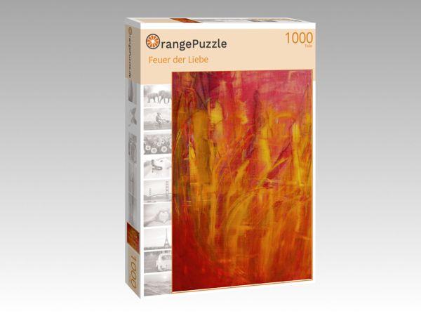 """Puzzle Motiv """"Feuer der Liebe"""" - Puzzle-Schachtel zu 1000 Teile Puzzle"""