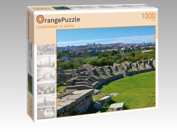 "Puzzle Motiv ""Amphitheater in Salona"" - Puzzle-Schachtel zu 1000 Teile Puzzle"