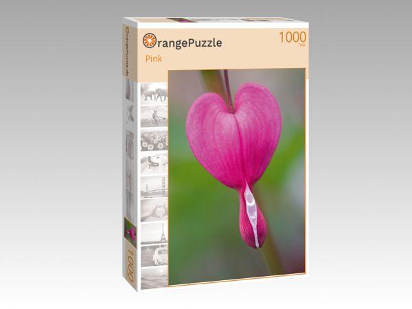 """Puzzle Motiv """"Pink"""" - Puzzle-Schachtel zu 1000 Teile Puzzle"""