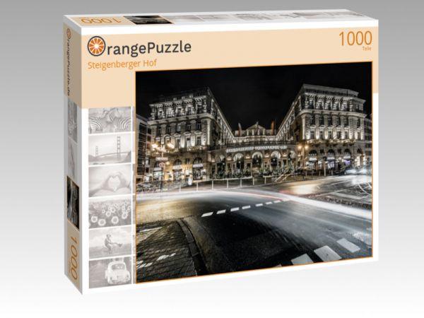 """Puzzle Motiv """"Steigenberger Hof"""" - Puzzle-Schachtel zu 1000 Teile Puzzle"""