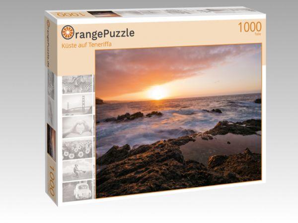 """Puzzle Motiv """"Küste auf Teneriffa"""" - Puzzle-Schachtel zu 1000 Teile Puzzle"""