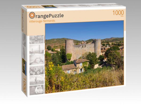 """Puzzle Motiv """"Villerouge-Termenès"""" - Puzzle-Schachtel zu 1000 Teile Puzzle"""
