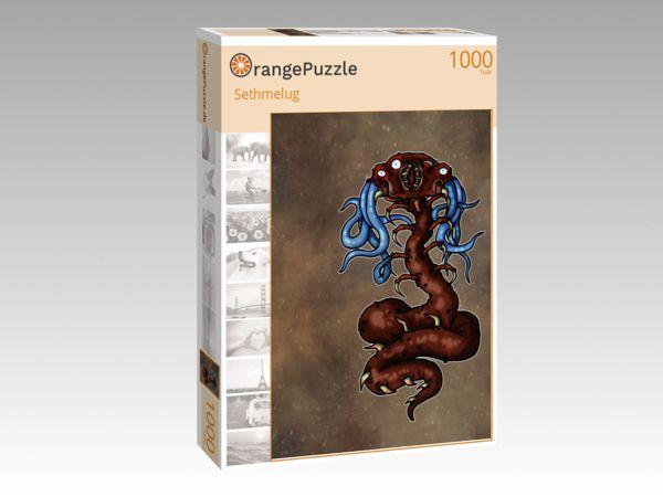 """Puzzle Motiv """"Sethmelug"""" - Puzzle-Schachtel zu 1000 Teile Puzzle"""