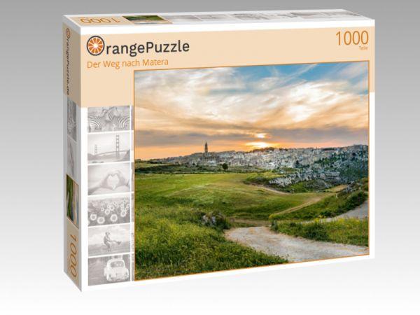"""Puzzle Motiv """"Der Weg nach Matera"""" - Puzzle-Schachtel zu 1000 Teile Puzzle"""