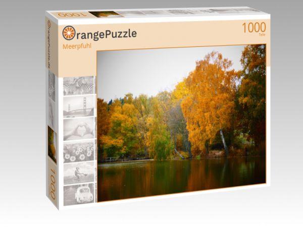 """Puzzle Motiv """"Meerpfuhl"""" - Puzzle-Schachtel zu 1000 Teile Puzzle"""