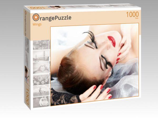 """Puzzle Motiv """"Wings"""" - Puzzle-Schachtel zu 1000 Teile Puzzle"""