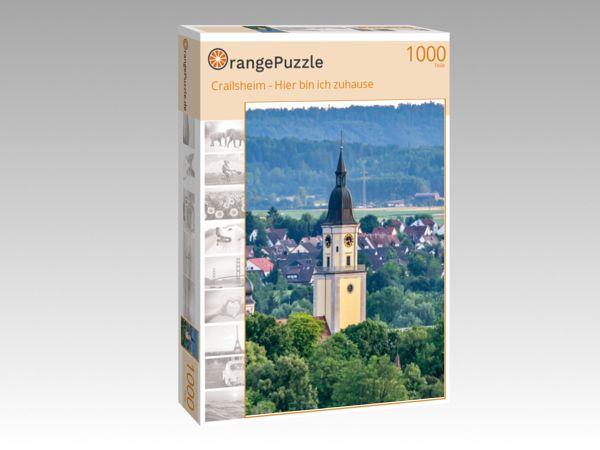 """Puzzle Motiv """"Crailsheim - Hier bin ich zuhause"""" - Puzzle-Schachtel zu 1000 Teile Puzzle"""