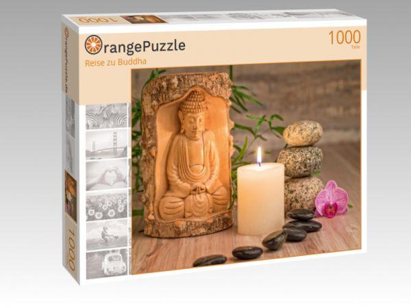 """Puzzle Motiv """"Reise zu Buddha"""" - Puzzle-Schachtel zu 1000 Teile Puzzle"""