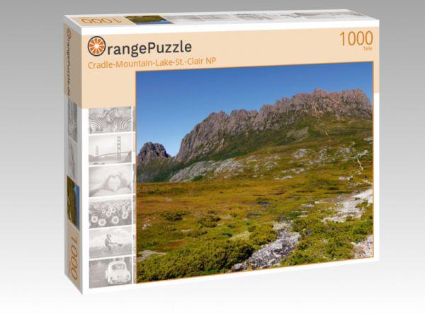 """Puzzle Motiv """"Cradle-Mountain-Lake-St.-Clair NP"""" - Puzzle-Schachtel zu 1000 Teile Puzzle"""
