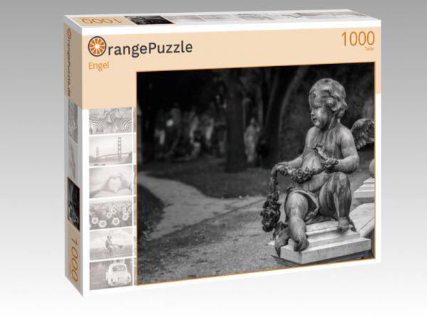"""Puzzle Motiv """"Engel"""" - Puzzle-Schachtel zu 1000 Teile Puzzle"""