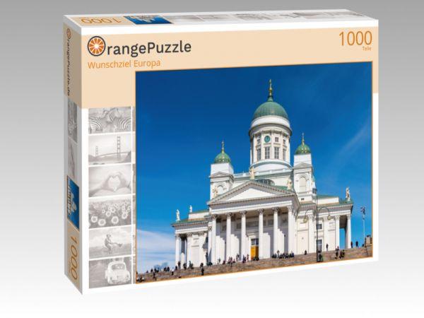 """Puzzle Motiv """"Wunschziel Europa"""" - Puzzle-Schachtel zu 1000 Teile Puzzle"""