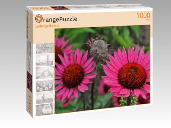 """Puzzle Motiv """"Liebesgedanken"""" - Puzzle-Schachtel zu 1000 Teile Puzzle"""
