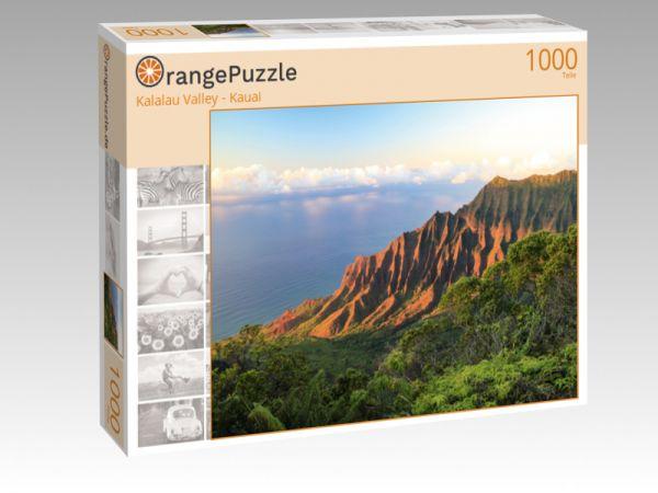 """Puzzle Motiv """"Kalalau Valley - Kauai"""" - Puzzle-Schachtel zu 1000 Teile Puzzle"""