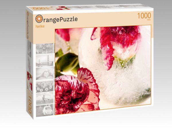 """Puzzle Motiv """"Nelke"""" - Puzzle-Schachtel zu 1000 Teile Puzzle"""