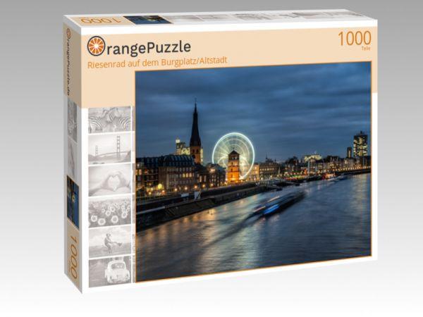"""Puzzle Motiv """"Riesenrad auf dem Burgplatz/Altstadt"""" - Puzzle-Schachtel zu 1000 Teile Puzzle"""