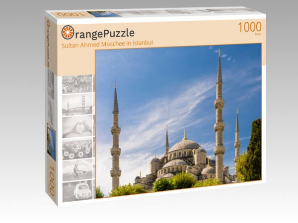 """Puzzle Motiv """"Sultan Ahmed Moschee in Istanbul"""" - Puzzle-Schachtel zu 1000 Teile Puzzle"""