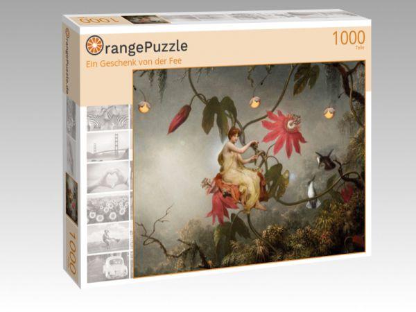 """Puzzle Motiv """"Ein Geschenk von der Fee"""" - Puzzle-Schachtel zu 1000 Teile Puzzle"""