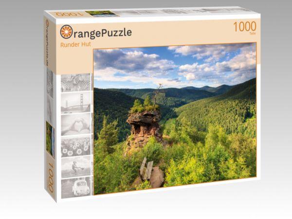 "Puzzle Motiv ""Runder Hut"" - Puzzle-Schachtel zu 1000 Teile Puzzle"