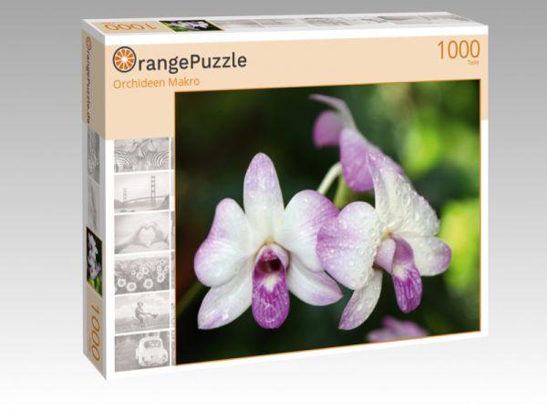 """Puzzle Motiv """"Orchideen Makro"""" - Puzzle-Schachtel zu 1000 Teile Puzzle"""
