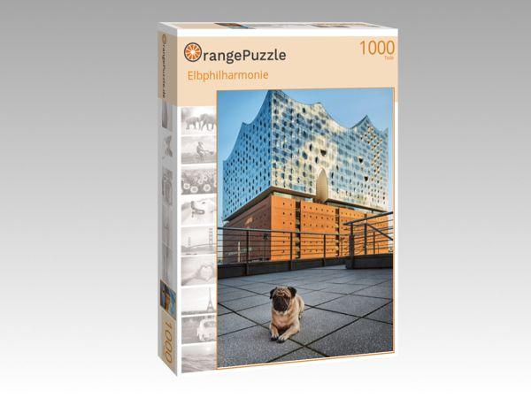 """Puzzle Motiv """"Elbphilharmonie"""" - Puzzle-Schachtel zu 1000 Teile Puzzle"""