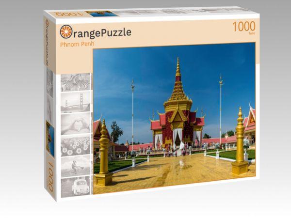 """Puzzle Motiv """"Phnom Penh"""" - Puzzle-Schachtel zu 1000 Teile Puzzle"""