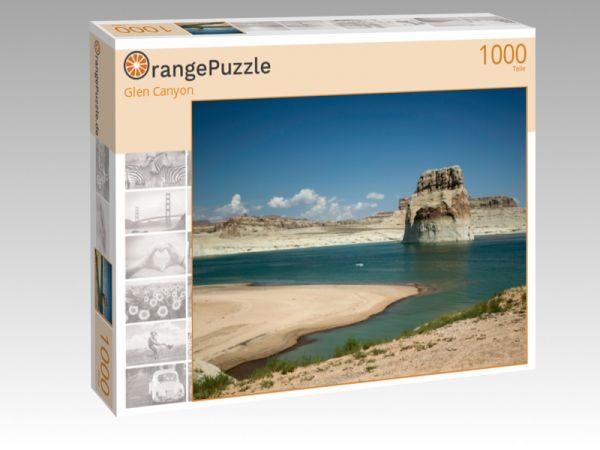 """Puzzle Motiv """"Glen Canyon"""" - Puzzle-Schachtel zu 1000 Teile Puzzle"""