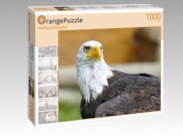 """Puzzle Motiv """"Weißkopfseeadler"""" - Puzzle-Schachtel zu 1000 Teile Puzzle"""