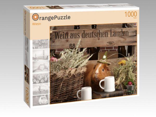 "Puzzle Motiv ""Wiesn"" - Puzzle-Schachtel zu 1000 Teile Puzzle"
