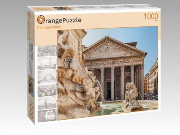 """Puzzle Motiv """"Pantheon Rom"""" - Puzzle-Schachtel zu 1000 Teile Puzzle"""