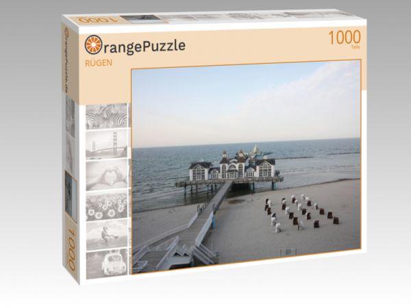 """Puzzle Motiv """"RÜGEN"""" - Puzzle-Schachtel zu 1000 Teile Puzzle"""