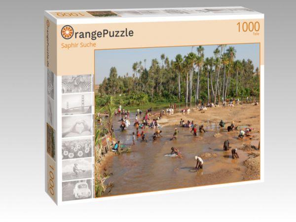 """Puzzle Motiv """"Saphir Suche"""" - Puzzle-Schachtel zu 1000 Teile Puzzle"""