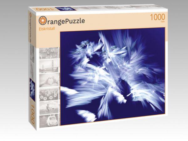 """Puzzle Motiv """"Eiskristall"""" - Puzzle-Schachtel zu 1000 Teile Puzzle"""