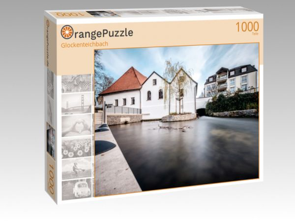 """Puzzle Motiv """"Glockenteichbach"""" - Puzzle-Schachtel zu 1000 Teile Puzzle"""