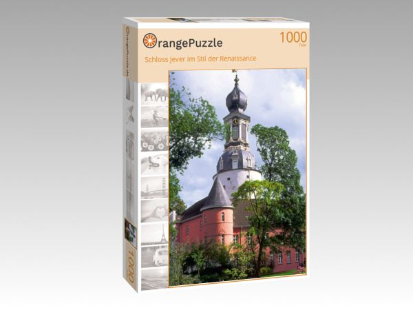 "Puzzle Motiv ""Schloss Jever im Stil der Renaissance"" - Puzzle-Schachtel zu 1000 Teile Puzzle"