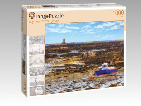 """Puzzle Motiv """"Seymour Tower - Jersey"""" - Puzzle-Schachtel zu 1000 Teile Puzzle"""